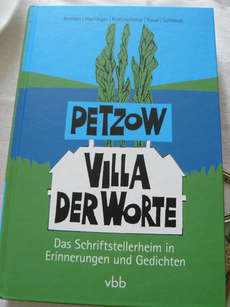 Irmtraud Morgner, Tafelrunde 2016: Thema des Gesprächs: das Buch über das Schriftstellerheim Petzow