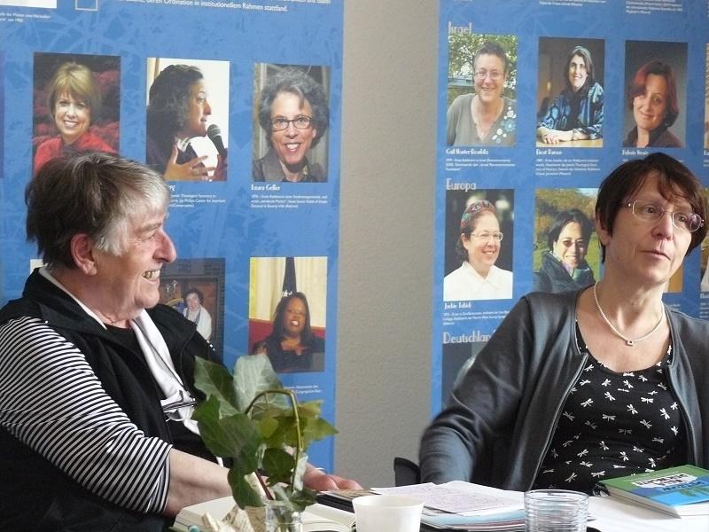Irmtraud Morgner, Tafelrunde 2016: Literaturwissenschaftlerin Christel Hartinger mit Kerstin Hensel im Gespräch