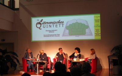 Literarisches Quintett  – Sonderausgabe anlässlich des 875. Geburtstags der Stadt Chemnitz
